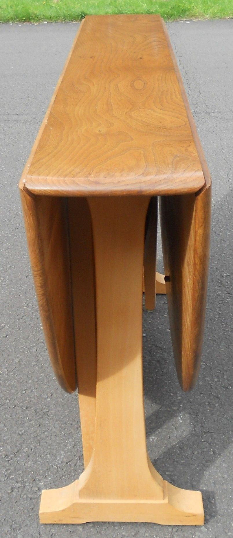 Ercol Narrow Dropleaf Dining Table